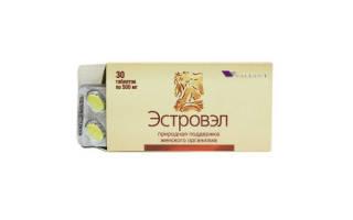 Негормональные препараты при климаксе эстровэл