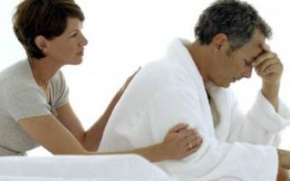 Первые симптомы климакса у мужчин