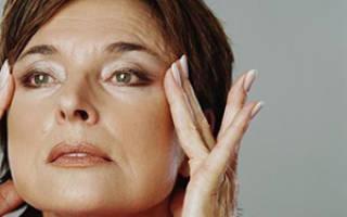 Прыщи на лице в период климакса