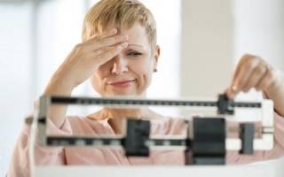 Повышение массы тела при климаксе