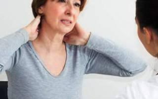 Шейный остеохондроз у женщин в период менопаузы