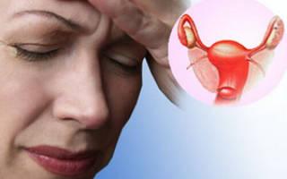 Сильное маточное кровотечение при климаксе